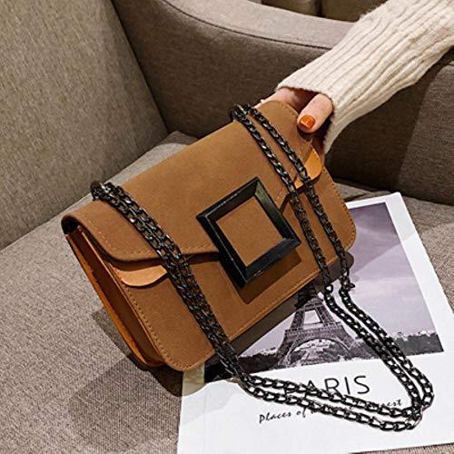 YDZ Chain Schouder Messenger Bag Reizen kleine handtassen en portemonnee