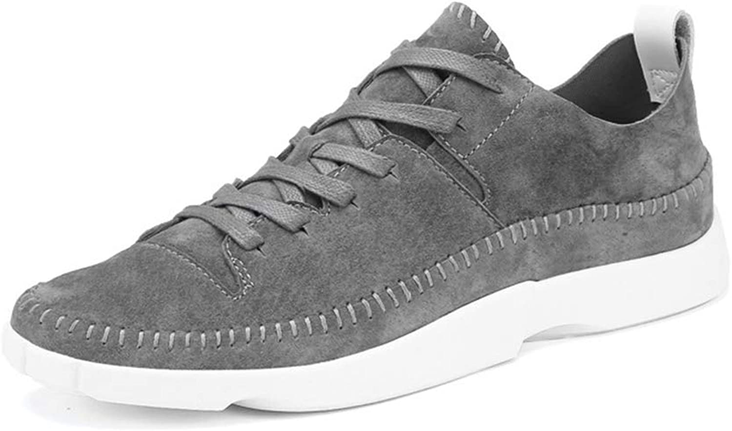 Men's shoes, Wild Lace-Up Low-Top shoes Spring Fall New Sports Casual shoes Academy Running shoes,A,44