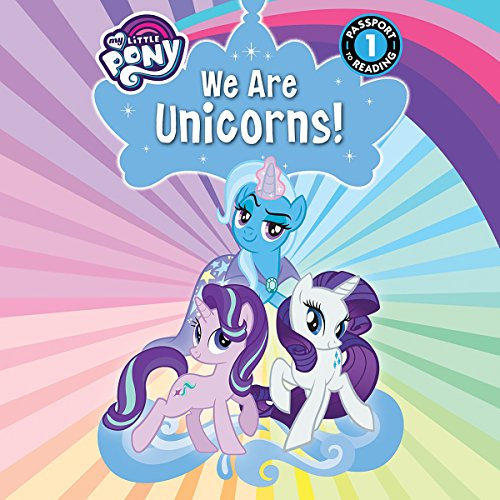 My Little Pony: We Are Unicorns! audiobook cover art