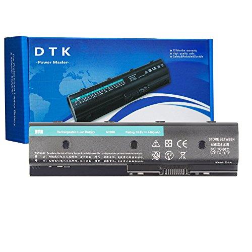 DTK MO06 MO09 671731-001 Laptop Battery Replacement for HP Pavilion DV4-5000 DV6-7000 DV7-7000 Envy DV4-5200 DV6-7200 M6-1100 Series Notebook [10.8V 4400MAH]