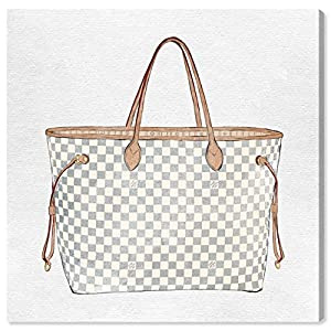 Fashion Shopping The Oliver Gal Artist Co. Fashion and Glam Wall Art Canvas Prints 'Royal Handbag