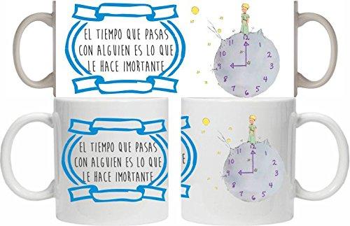 Taza Principito Reloj