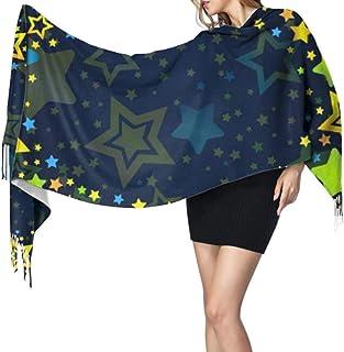 27 'x77' Chal Wrap para niñas Inglés Letra O en forma Particluar Bufanda suave Bufanda Niñas Elegante manta cálida grande