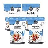 4 x borchers 100% eritritol, alternativa de azúcar, sin calorías, eritritol, de Francia 3 x 400 g