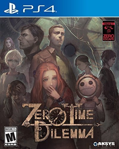 Zero Escape: Zero Time Dilemma for PlayStation 4 [Importación inglesa]