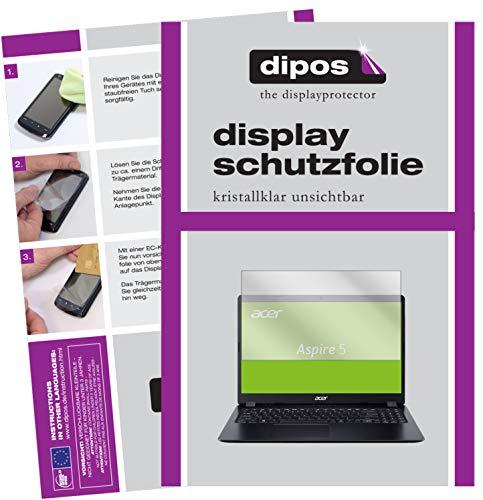 dipos I Schutzfolie kompatibel mit Acer Aspire 5 (A515-54G-59WR) Displayschutz-Folie klar