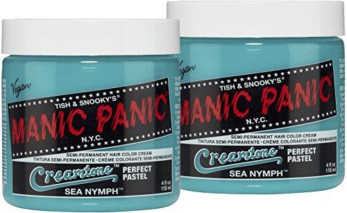 MANIC PANIC Sea Nymph Creamtone Pastel Hair Dye 2PK
