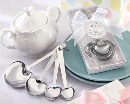 Love Beyond Measure Stainless-Steel Measuring Spoons Baby Shower Favor [SET OF 24]