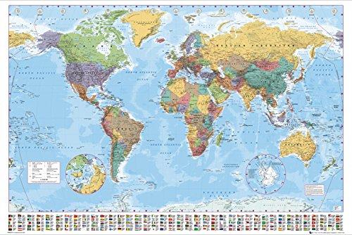ikea poster wereldkaart