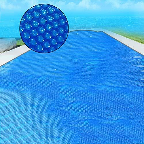 Lona alquitranada Cubierta de Piscina, PE Rectangular Evita La Evaporación Cubierta de Piscina, Película de Aislamiento de Piscina Anti-evaporación, 2m / 3m / 4m / 5m de Ancho (Size : 3X6m)