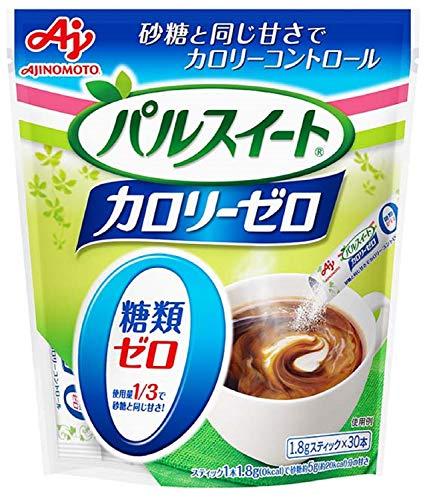 味の素 パルスイート カロリーゼロ スティック 30本入 袋54g [8359]
