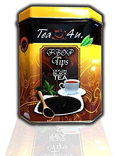 Tea4U Loose Leaf Black Tea - Flowery Broken Orange Pekoe