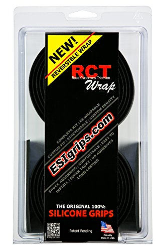 ESI Grips RCT Road/Cyclocross/Triatlón, Negro