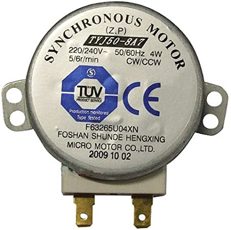 Mikrowelle Backofen Tray Motor 220-240V 4W synchron Motor für TYJ50-DGT