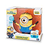 Molded Plastic Body Moves Eyes & Feet, interacts with Music and sounds Voice & talkback features, speaks to Stuart and responds to user' s voice Original voice with Sound effects