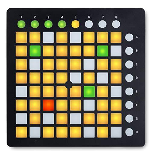 ANZQHUWAI Novation Launchpad Pro Mini MK2 MKII Live-MIDI-Controller-USB-DJ Bühne
