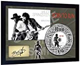 SGH SERVICES Disque CD dédicacé de Bruce Springsteen Born to Run