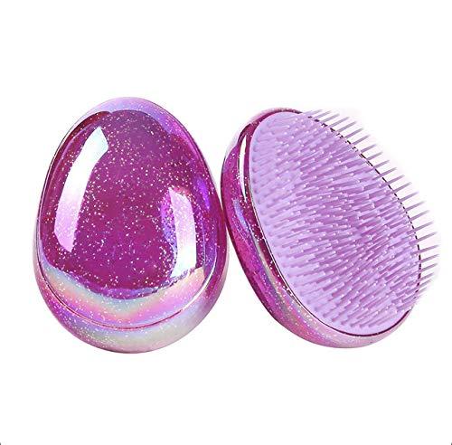 Brosse Démêlante Antistatique de poche (Violet)