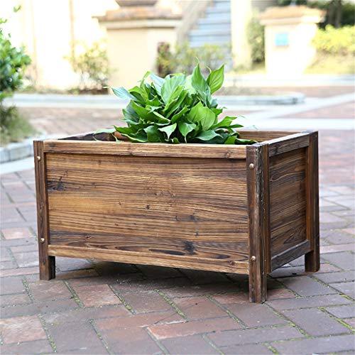 AWX-Flower Houten plantenbak, grote houten kist voor de tuin, bloemenbak