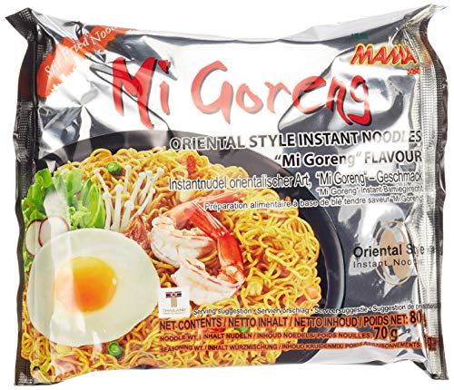 Mama Instant Nudeln Mi Goreng 80 g, 20er Pack (20 x 80 g)