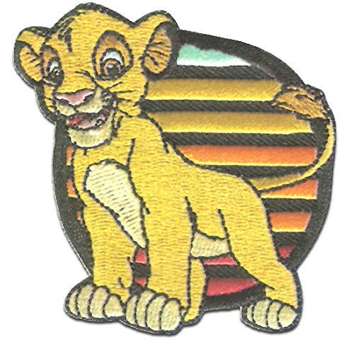 Disney  Le Roi lion Simba - Patch Fer Patch Applique Fer sur Applique Patchs Patchs