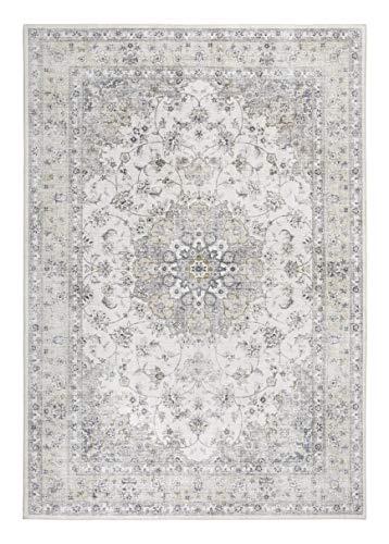 Luxor Living Designteppich Prima, Vintageteppich, hochwertig gewebt, Creme, 80 x 150 cm