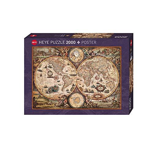 Heye- Puzzle Vintage World Zigic, 2000 Pezzi, 98 x 68 cm, 29666