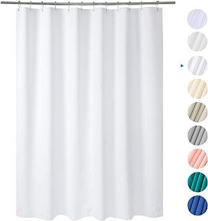 Amazer Shower Curtain 72 W X H White EVA 8G Mildew Resistant