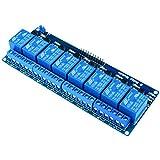 kuman 5V 8 Canales Escudo Módulo de Relé para Arduino R3 1280 2560 ARM PIC AVR STM32 Raspberry Pi DSP K30