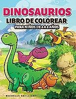 Dinosaurios Libro de colorear para niños de 4 a 8 años: 50 imágenes de dinosaurios que entretendrán a los niños y los involucrarán en actividades creativas y relajantes para descubrir la era jurásica