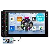 Android 10.0 Auto-Stereo Doppel-DIN-GPS-Navigation Bluetooth-Freisprecheinrichtung Headunit Video-Player-FM / AM / RDS-Radioempf?nger 7-Zoll-HD Full
