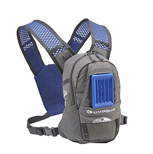 Umpqua Rock Creek ZS Fly Fishing Compact Chest Pack Granite
