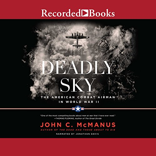 Deadly Sky audiobook cover art