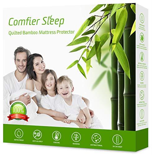 Comfier Sleep Store Waterproof Quilted Mattress Protector