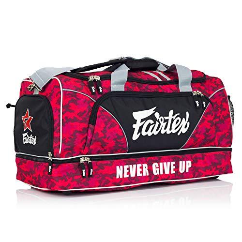 Fairtex Red Camo Heavy Duty Large Gym Sports Bag