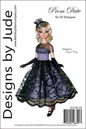 Prom Date Pattern for 16' Ellowyne Wilde Dolls Tonner