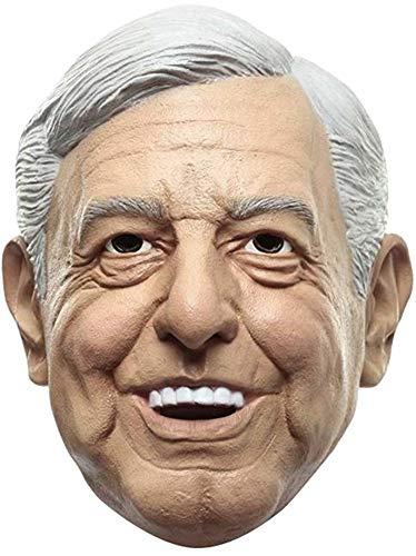 Ya Sabes Quién Máscara de AMLO Andrés Manuel López Obrador Disfraz del PEJE Presidente de México by Ghoulish Productions