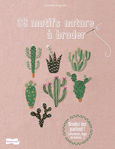 38 motifs nature à broder (Broderie)