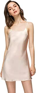 Women's Long Silky Tank Top Adjustable Spaghetti Strap Camisole Slip Dress