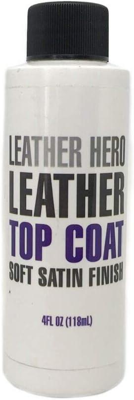 Leather Hero Satin Top Super intense SALE Product Coat 4oz Sealant Restorer Color