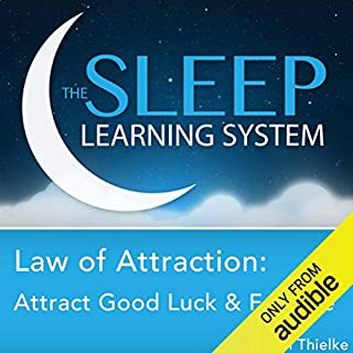 Law of Attraction: Attract Good Luck and Fortune with Hypnosis, Meditation, and Affirmations audiobook cover art