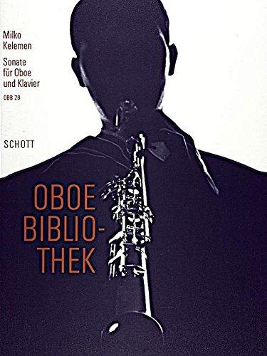 Sonate: Oboe und Klavier. (Oboen Bibliothek)
