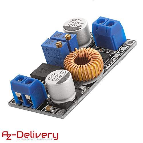 AZDelivery Spannungswandler 5A 8-36V zu 1,25-32V XL4015 inklusive E-Book!