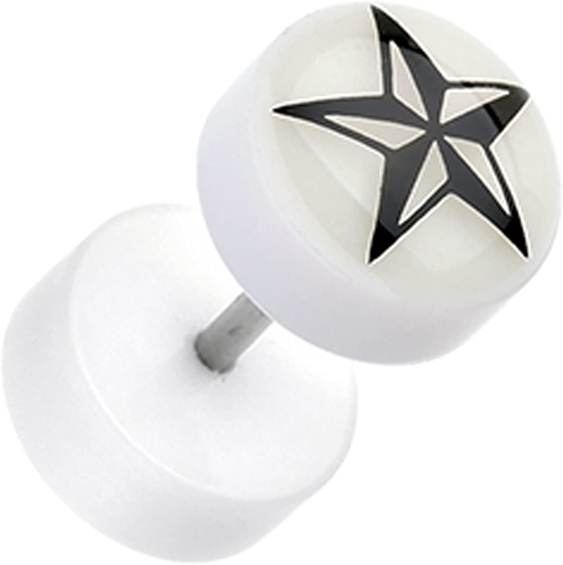 Glow in the Dark Nautical Star Acrylic a Max 46% OFF Pai Sold as Topics on TV Plug Fake -