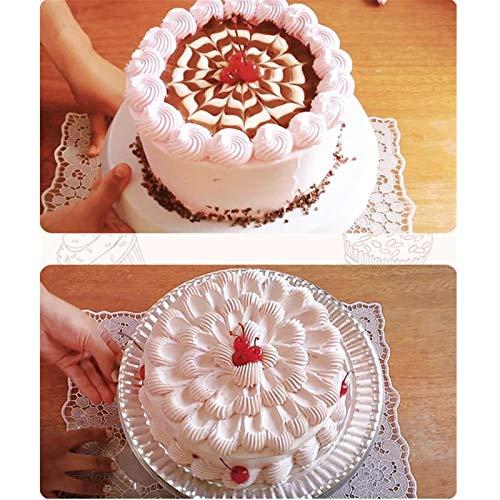 ステンレス製絞り口金丸型花型口金ケーキデコレーション飾りお菓子作り製菓用品3個セット