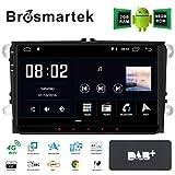 DAB+ Android 10.0 Autoradio Navigationssystem GPS 9 in IPS kapazitiver Touchscreen für VW Golf Passat Skoda Seat Bluetooth Sat Navi Radio RDS Bildschirm Spiegel Canbus Lenkradsteuerung WiFi DSP 96G