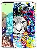 Sunrive Coque Compatible avec Samsung Galaxy S6 Edge Plus, Silicone Étui Housse Protecteur Souple...