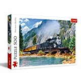 Trefl 37379 - Puzzle 500 con Tren de montaña