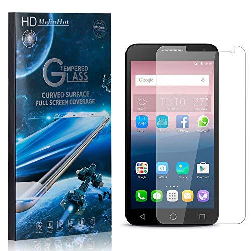 MelinHot Vetro Temperato per Huawei Ascend Y550, Nessuna Bolla, 3D Touch 9H Durezza Trasparente Pellicola Protettiva in Vetro Temperato per Huawei Ascend Y550, 1 Pezzi