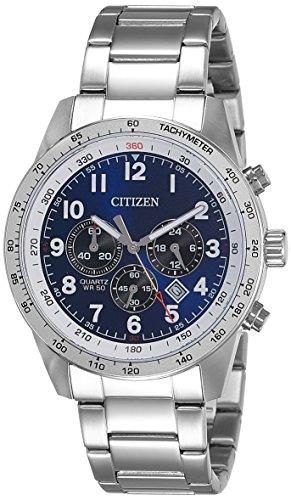 Citizen Analog Blue Dial Men's Watch - AN8160-52L